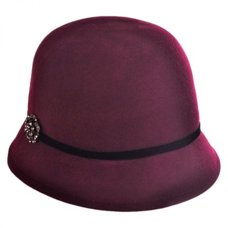 Brooch Cloche Hat