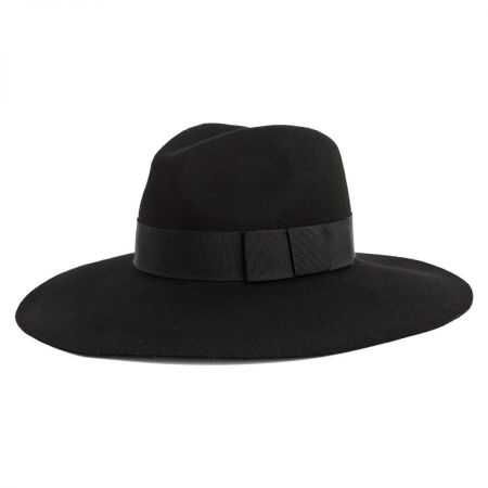 Brixton Hats Piper Wool Felt Floppy Fedora Hat