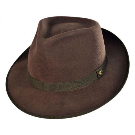 Brixton Hats Elijah Classic Style Fedora Hat