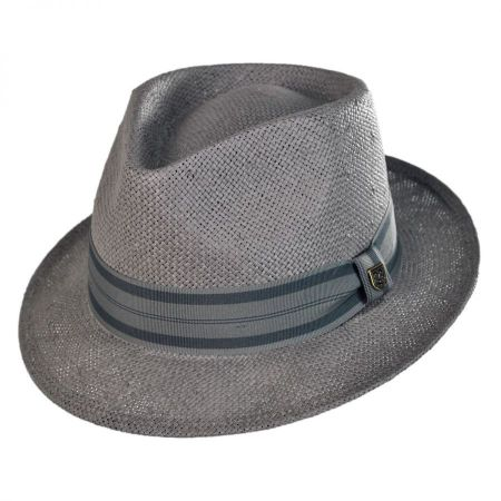 Brixton Hats Baxter Toyo Straw Fedora Hat
