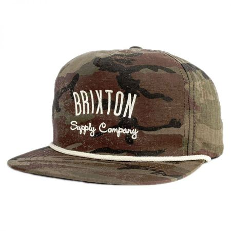 Brixton Hats Driven Snapback Baseball Cap