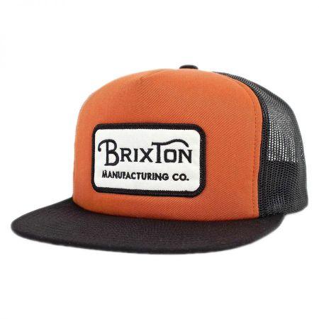 Brixton Hats Grade Snapback Baseball Cap