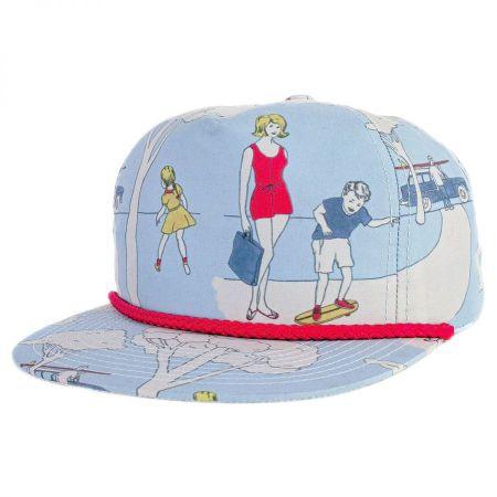 Brixton Hats Henshaw Snapback Baseball Cap