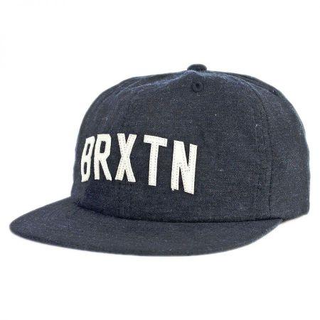 Brixton Hats Hamilton Adjustable Strapback Baseball Cap