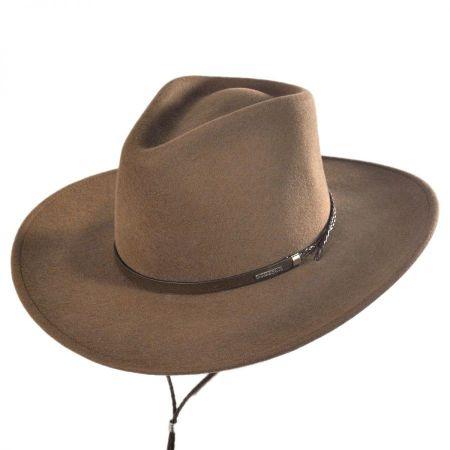 Stetson Banner Earflap Wool Felt Aussie Hat
