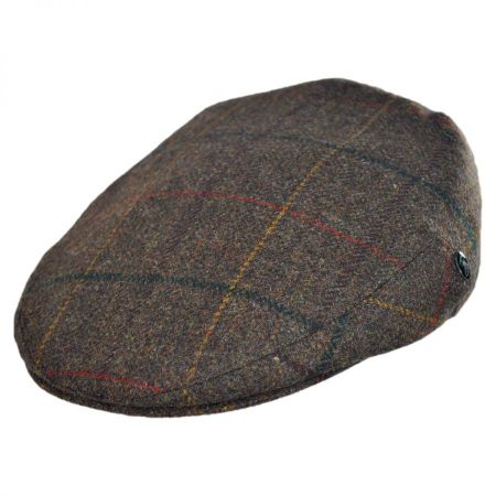 City Sport Caps Plaid British Wool Ivy Cap