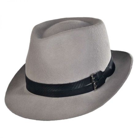 Christys' Crown Series Strapped Fedora Hat