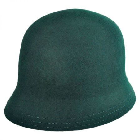 Scala Packable Buckle Cloche Hat