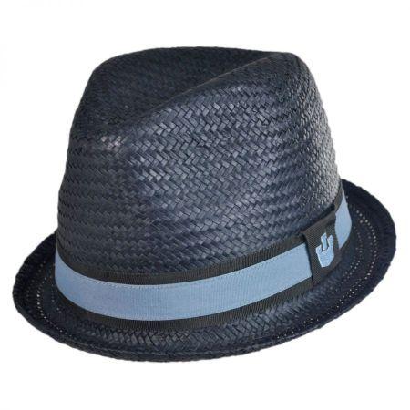 Goorin Bros Sand Cassel Kid's Hammond Jr Toyo Straw Fedora Hat