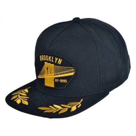 Goorin Bros Brooklyn Steel Snapback Baseball Cap