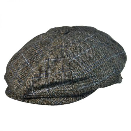 Brood Plaid Newsboy Cap