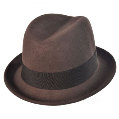 Brooklyn Hat Co Amsterdam Godfather Fedora Hat