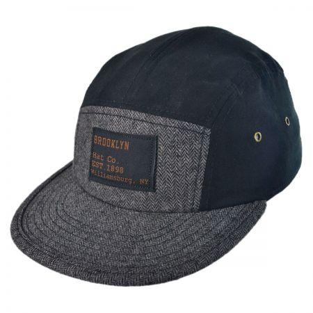 Brooklyn Hat Co Billyburg Five-Panel Strapback Baseball Cap
