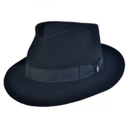 Stetson Winfield Fur Felt Fedora Hat