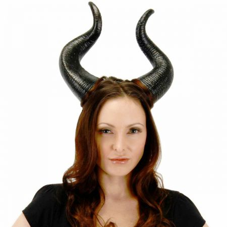 Disney Malificent Horns Costume Hat