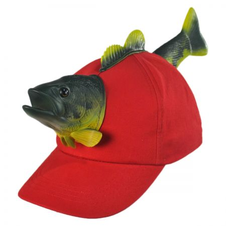 3D Fish Snapback Baseball Cap alternate view 4
