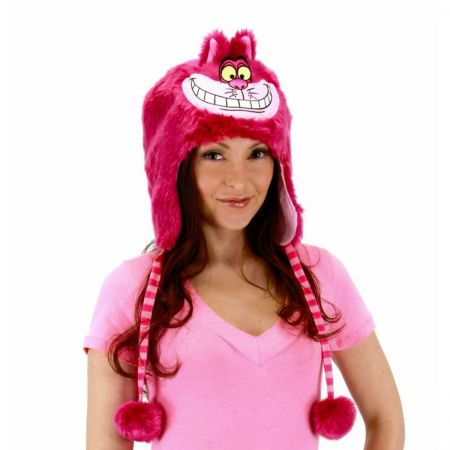 Disney Alice in Wonderland Cheshire Cat Furry Peruvian Beanie Hat