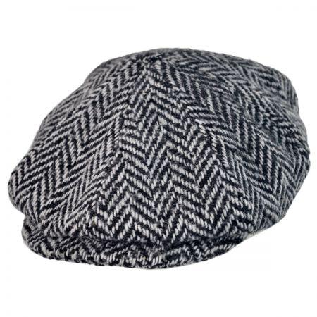 Kangol Ripley Herringbone newsboy cap