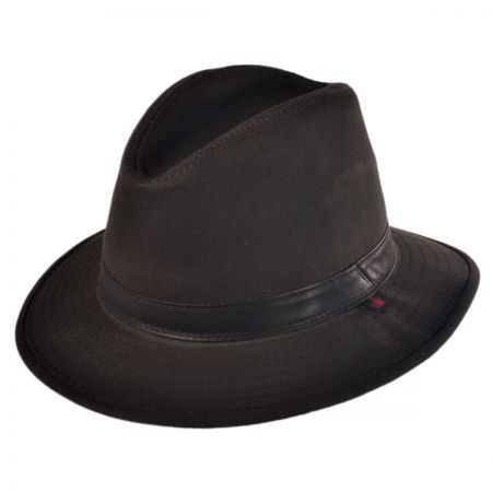 Woolrich OilCloth Safari with Earflaps hat