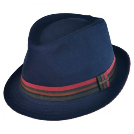 Stetson Stripe Band Fedora