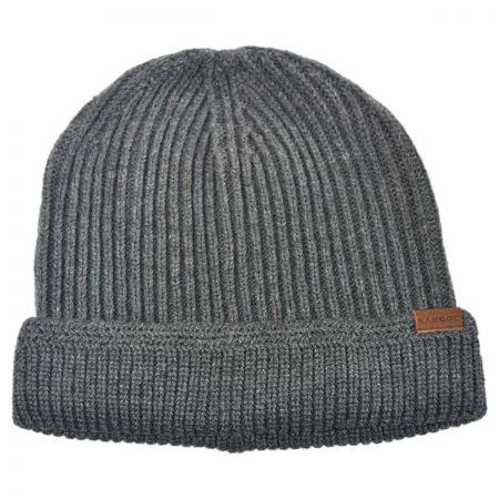 Leather Beanie at Village Hat Shop 3b462537548