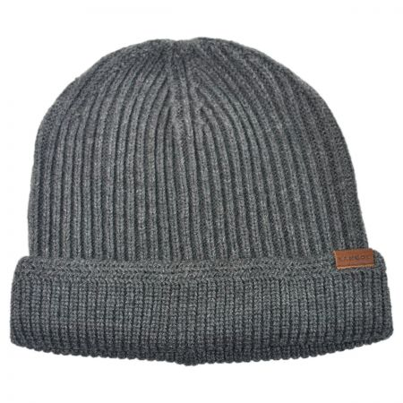 Kangol Squad Cuff Pull On Knit Beanie Hat