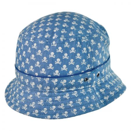 Brooklyn Hat Co Skully Bucket hat