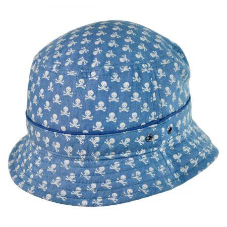 Brooklyn Hat Co Skully Cotton Bucket Hat