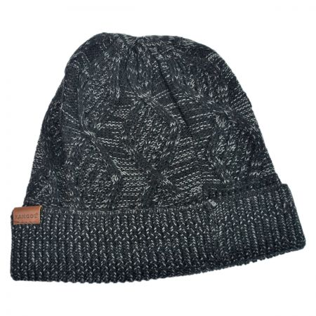 Kangol Helix Cable Pull On Beanie Hat