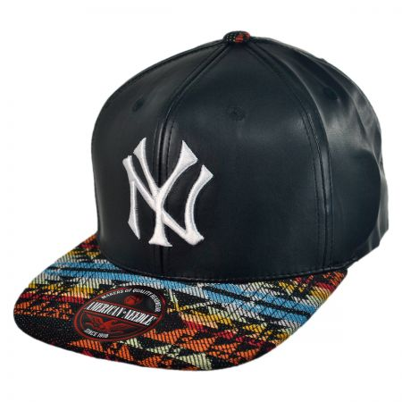 American Needle New York Yankees MLB Sleek Strapback Baseball Cap