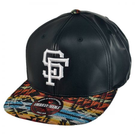 American Needle San Francisco Giants MLB Sleek Strapback Baseball Cap