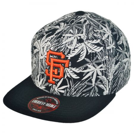 American Needle San Francisco Giants MLB HiLo Strapback Baseball Cap