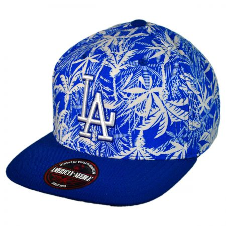 American Needle Los Angeles Dodgers MLB HiLo Strapback Baseball Cap