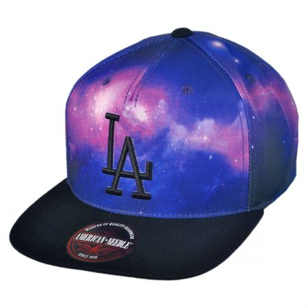 American Needle Los Angeles Dodgers MLB Final Frontier Strapback Baseball Cap