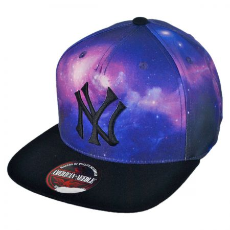 American Needle New York Yankees MLB Final Frontier Strapback Baseball Cap
