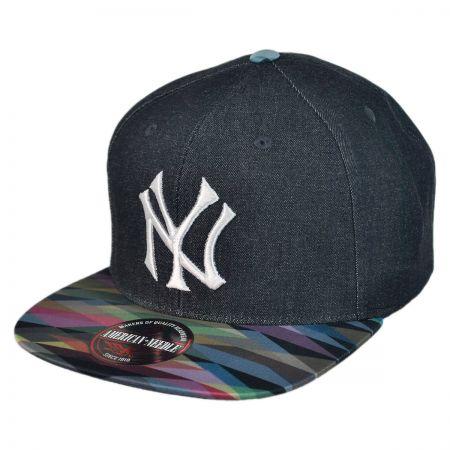American Needle New York Yankees Geo Tag Baseball Cap
