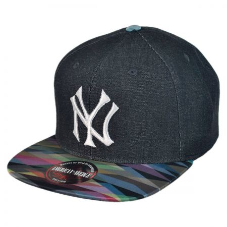 American Needle New York Yankees MLB Geo Tag Strapback Baseball Cap