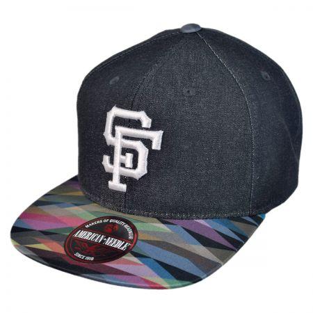 American Needle San Francisco Giants Geo Tag Baseball Cap