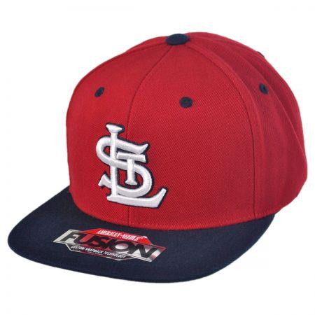 American Needle St Louis Cardinals MLB Back 2 Front Snapback Baseball Cap