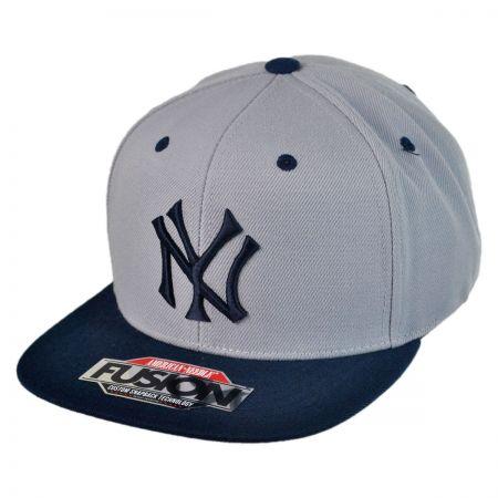 American Needle Back 2 Front New York Yankees Baseball Cap