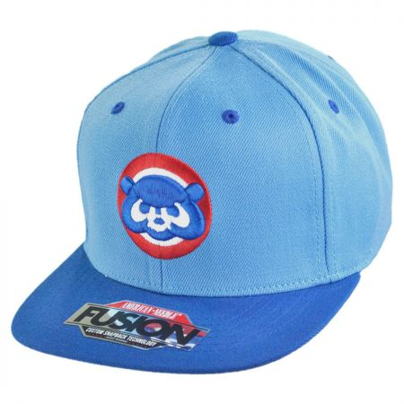 American Needle Chicago Cubs MLB Back 2 Front Snapback Baseball Cap