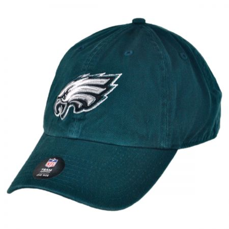 47 Brand Philadelphia Eagles NFL Clean Up Strapback Baseball Cap Dad Hat