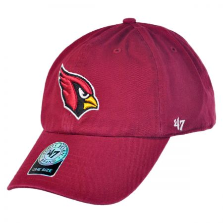 47 Brand Arizona Cardinals NFL Clean Up Strapback Baseball Cap Dad Hat