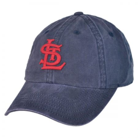 American Needle St Louis Cardinals MLB Raglan Strapback Baseball Cap