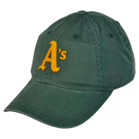 American Needle Oakland Athletics MLB Raglan Strapback Baseball Cap