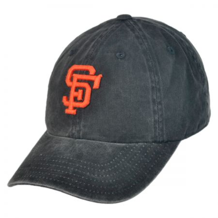 American Needle San Francisco Giants MLB Raglan Strapback Baseball Cap