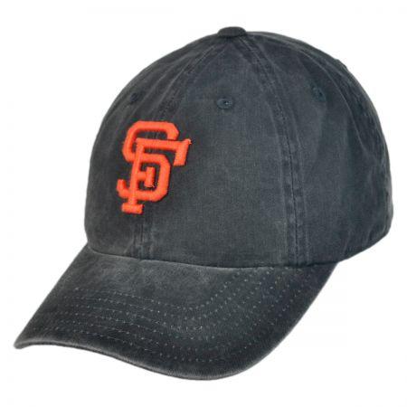 American Needle San Francisco Giants MLB Raglan Strapback Baseball Cap