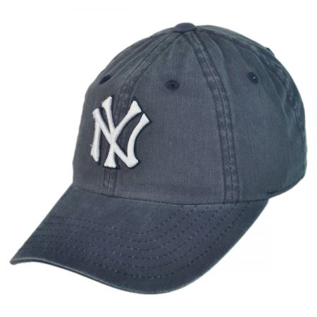 American Needle New York Yankees MLB Raglan Strapback Baseball Cap