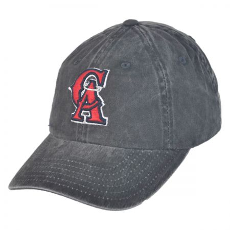 American Needle Los Angeles Angels of Anaheim MLB Raglan Strapback Baseball Cap