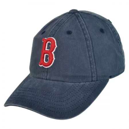 American Needle Boston Red Sox MLB Raglan Strapback Baseball Cap